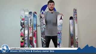 Atomic 2013 Punx & Century Junior Skis