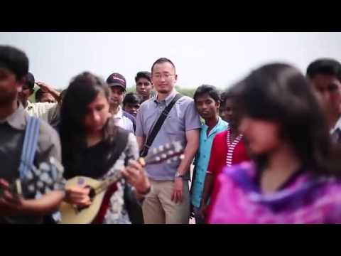 Amar Sonar Bangla National Anthem Instrumental Flash MOB