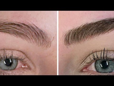 Women Get Their Eyebrows Tattooed