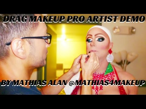 Drag Makeup Tutorial Step By Step   Best In Drag Show