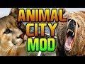 "GTA 5 - ""ANIMALS IN LOS SANTOS MOD"" Mountain Lion, Sharks, Cows, Pigs MOD / HACK Grand Theft Auto V"
