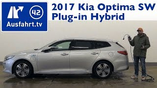 2017 Kia Optima Sportswagon 2.0 GDi Plug-in Hybrid  - Kaufberatung, Test, Review