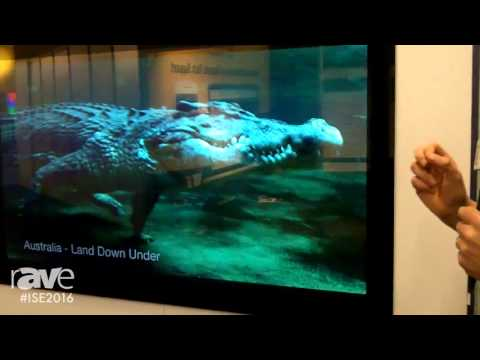 ISE 2016: Aquavision Shows Newest Range of Elite 4K Screens