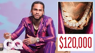 Dave East Shows Off His Insane Jewelry Collection