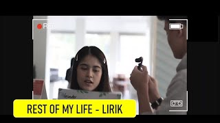 Download Song Arash Buana, Ashira Zamita - Rest Of My Life (Video Lyric) Free StafaMp3