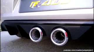 VW Golf R400 Sound!!!