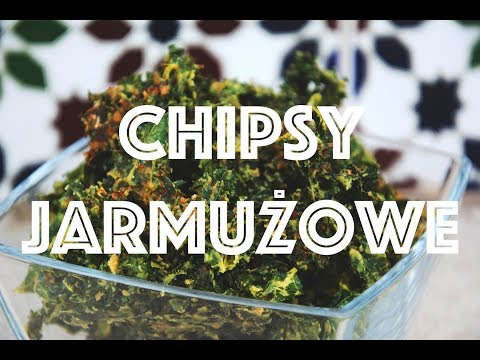 Chipsy Jarmużowe