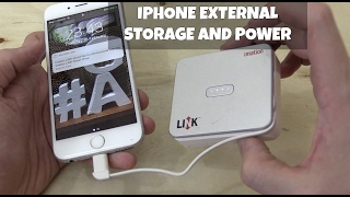 iPhone Powerbank & Storage from iMation
