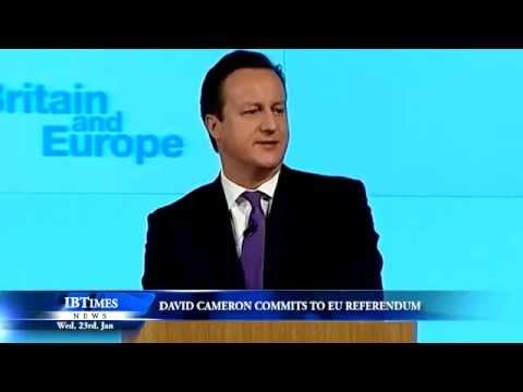 David Cameron commits to EU referendum