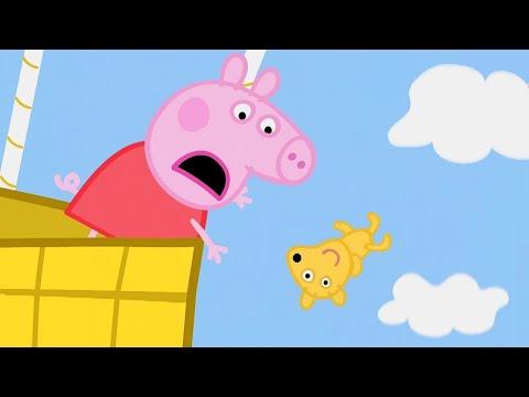 Свинка Пеппа на русском все серии подряд 🧸 О нет, Тедди! | Мультики