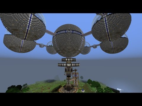 Minecraft | Epic Build | The Space Station!