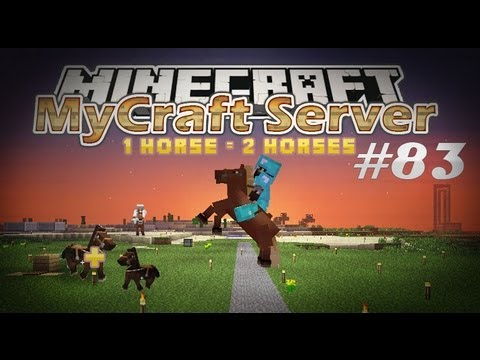 [Fir4sGamer] MyCraft E83 : ماي كرافت - احصنة وحركات وقلتش تدبيل االاحصنة