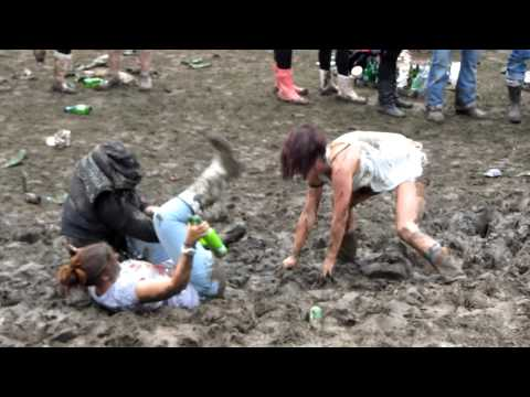 Mud Wrestling at Milton Keynes Bowl