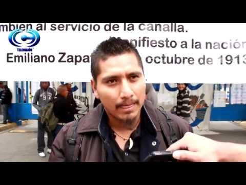 Universidad de Chapingo en solidaridad con Ayotzinapa. Paro de actividades 15/10/14