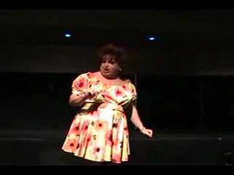 Larry Moore As Totie Fields - Holliday's Headliners