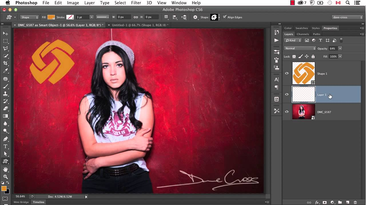 How to Create a Simple Watermark Brush in Photoshop