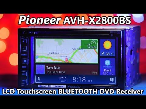 Pioneer AVH-X2800BS - Demo & Review 2016