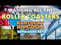 Ranking All The Roller Coasters At Kentucky Kingdom (Louisville, KY)