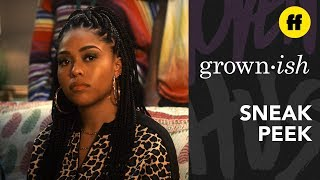 grown-ish Season 2, Episode 19 | Sneak Peek: Jordyn Woods Makes Her Acting Debut | Freeform