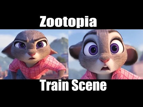 Zootopia - Nick And Judy Memorable Scene (Solve Mystery)