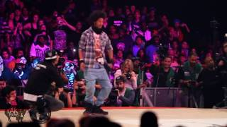 Les Twins vs Lil'O & Tyger B Juste Debout 2011 Semi-Final | YAK FILMS