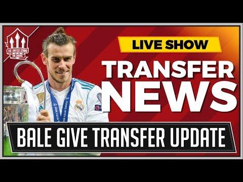 Gareth BALE Gives MANCHESTER UNITED Transfer Update | MAN UTD Transfer News