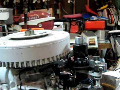 1980 Chrysler 6hp Outboard Motor Recoil Spring How To