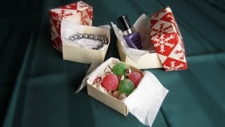 Christmas: Make An Origami Gift Box