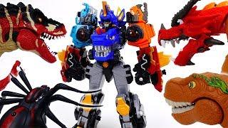 Go Go Dino-Core 2, Endless Battle Against Dinosaurs
