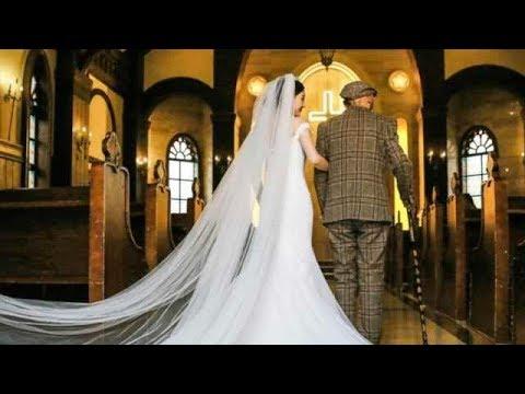 淚目!25歲女生與病重爺爺拍婚紗照