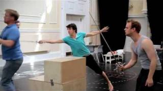 Peter Pan - BeltUp Pirates in rehearsal