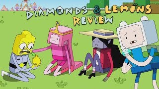 Adventure Time Review: Diamonds and Lemons (The Minecraft Episode)