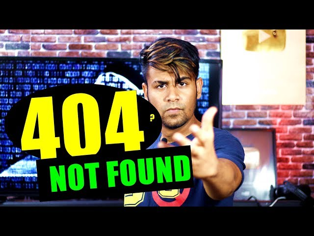 What is 404 Error Code ?   Not Found   How To Fix It ? thumbnail