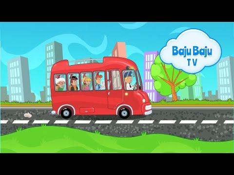 Koła Autobusu Kręcą Się - Piosenki Dla Dzieci 45min Bajubaju.tv