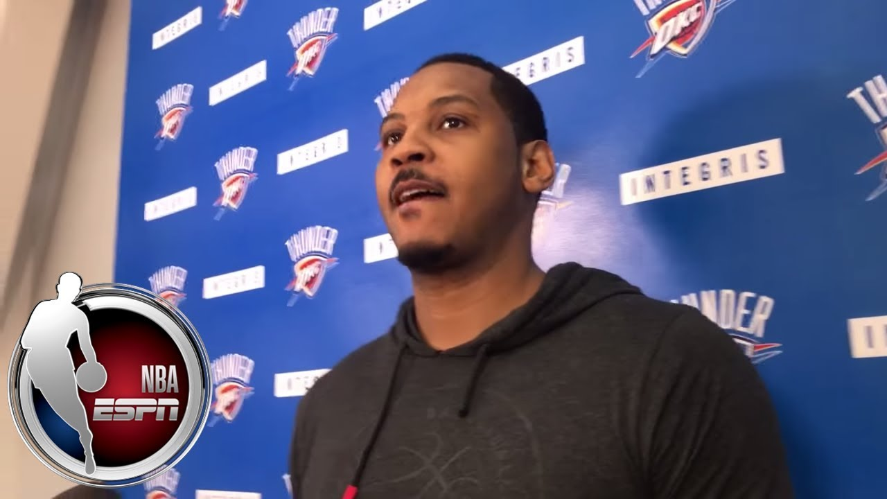 Carmelo Anthony on the Oklahoma City Thunder's struggles: 'We have to change our mentality'   ESPN