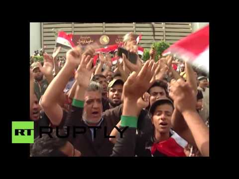 Iraq: Thousands celebrate as they storm their way into parliament