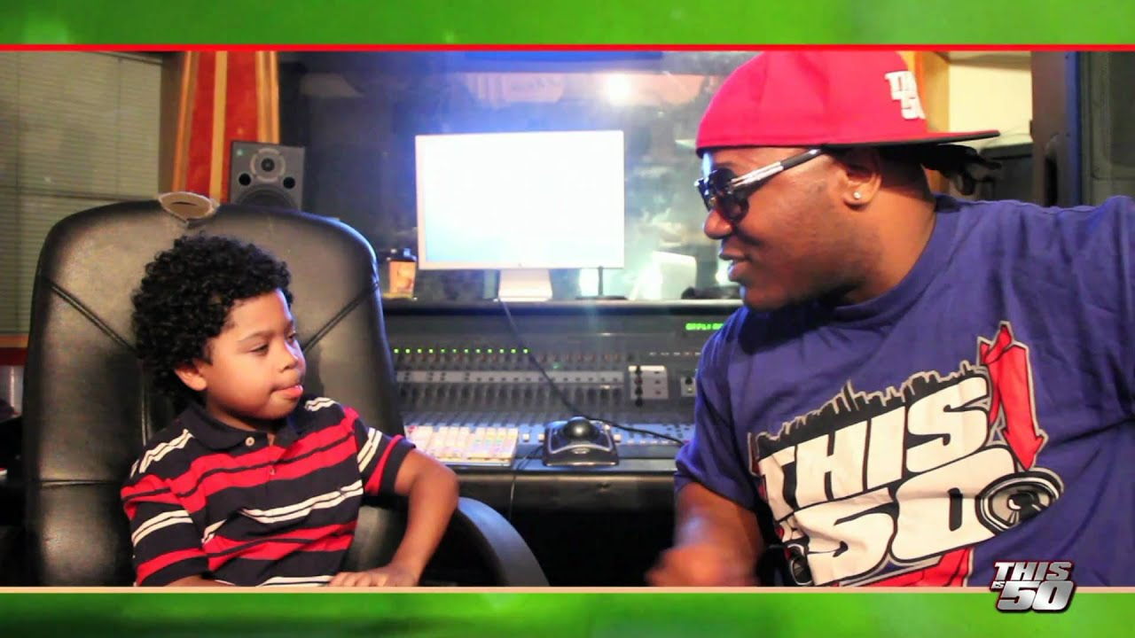 thisis50 interview freestyle with quot7yearold rapper