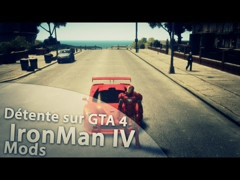 Grand Theft Auto IV IronMan IV Mods PC - TehxBaby