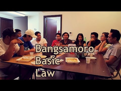 Bangsamoro Basic Law (BBL) | Usapang Tropapipz