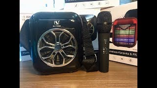 Loa Bluetooth kèm micro hát Karaoke cực hay giá chỉ 680k