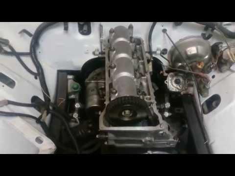 Двигатель ваз 2106 сборка видео