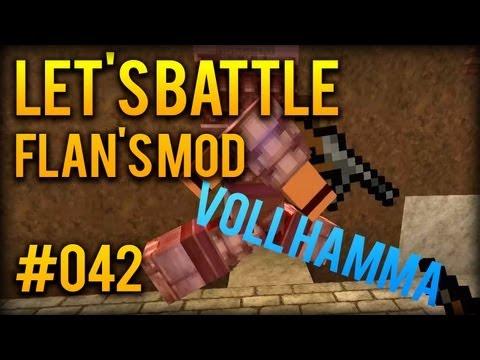 Let's Battle Minecraft S8 - #042 - SOOO MUSS ES SEIN [Flan's Mod . Staffel 8]