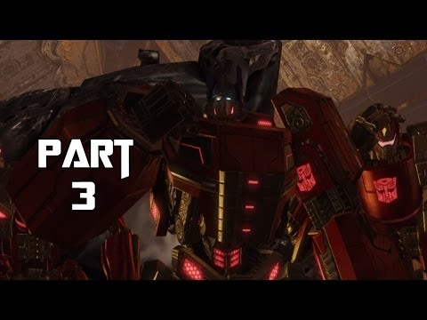 Transformers Rise of the Dark Spark Gameplay Walkthrough Part 3 - A Helpful Hand (PC)