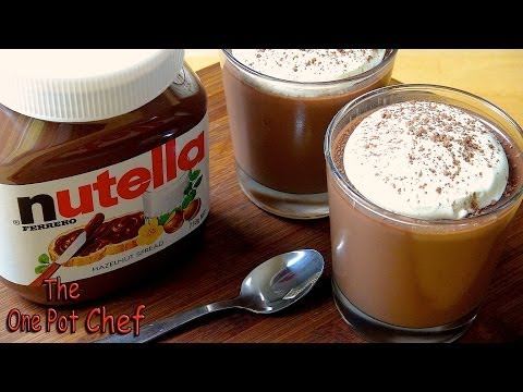 Nutella Dessert Cups - RECIPE