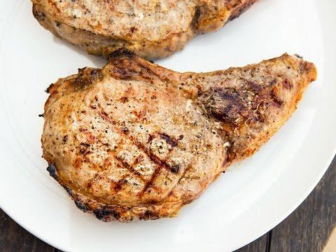 Сочный Чалагач в духовке - Свиная корейка на кости рецепт / Spiced Pork Chop Recipe