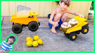 Construction Trucks Make Coconut Limeade