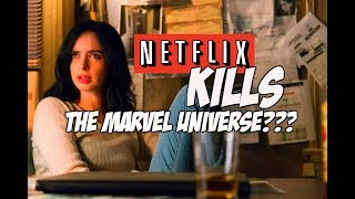 NETFLIX KILLS THE MARVEL UNIVERSE!! | The Truth About Netflix Cancelling Marvel Shows