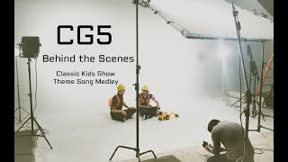 """Behind The Scenes - CG5 Featuring DAGames """"Classic Kids Show Theme Song Medley"""""""