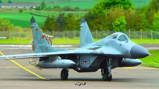 MIG 29 Fighter Jet Family (HD 720p)