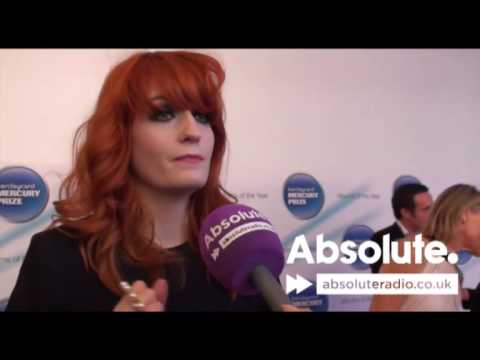 Florence And The Machine at the Mercury Prize 2009